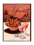Gourmet Cover - May 1944 Regular Giclee Print by Henry Stahlhut
