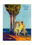 Vanity Fair Cover - February 1918 Regular Giclee Print by Warren Davis