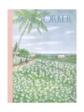 The New Yorker Cover - April 20, 1957 Giclee Print by Edna Eicke