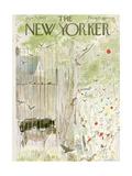 The New Yorker Cover - June 15, 1963 Giclee Print by Garrett Price