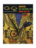 GQ Cover - February 1967 Regular Giclee Print by Leonard Nones