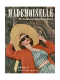 Mademoiselle Cover - June 1940 Regular Giclee Print by Paul D'Ome