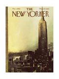 The New Yorker Cover - March 3, 1962 Reproduction procédé giclée par Arthur Getz