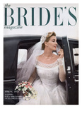 Brides Cover - February, 1953 Regular Giclee Print by William Helburn