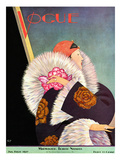 Vogue Cover - January 1927 Giclee Print by George Wolfe Plank