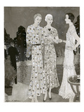 Vogue - June 1930 Giclee Print by Barbara E. Schwinn
