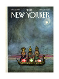 The New Yorker Cover - December 21, 1968 Regular Giclee Print by Charles E. Martin
