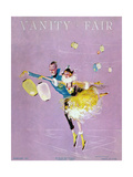 Vanity Fair Cover - February 1917 Giclee Print by Dorothy Ferriss