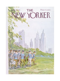 The New Yorker Cover - July 19, 1976 Regular Giclee Print by James Stevenson