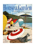 House & Garden Cover - June 1957 Giclee Print by Otto Maya & Jess Brown