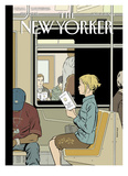 The New Yorker Cover - November 8, 2004 Reproduction procédé giclée par Adrian Tomine
