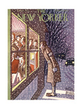The New Yorker Cover - February 28, 1942 Giclee Print by Peter Arno