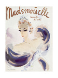 Mademoiselle Cover - November 1936 Regular Giclee Print by Helen Jameson Hall