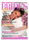 Brides Cover - April 1995 Regular Giclee Print by Walter Chin