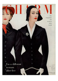 Charm Cover - October 1952 Reproduction proc&#233;d&#233; gicl&#233;e par William Helburn