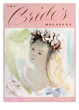 Brides Cover - October, 1938 Regular Giclee Print by Mary A. Barker