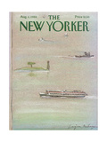 The New Yorker Cover - August 6, 1984 Regular Giclee Print by Eugène Mihaesco