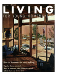 Living for Young Homemakers Cover - April 1959 Regular Giclee Print by Ernest Silva