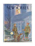 The New Yorker Cover - November 21, 1953 Regular Giclee Print by Julian de Miskey