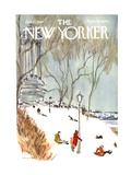 The New Yorker Cover - January 27, 1968 Regular Giclee Print by James Stevenson