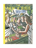 The New Yorker Cover - August 8, 1964 Regular Giclee Print by Peter Arno