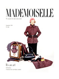 Mademoiselle Cover - September 1949 Regular Giclee Print by John Midgley
