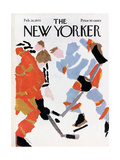 The New Yorker Cover - February 28, 1970 Giclee Print by James Stevenson