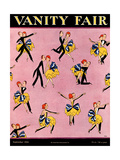 Vanity Fair Cover - September 1924 Regular Giclee Print by A. H. Fish