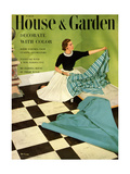 House & Garden Cover - March 1952 Regular Giclee Print by Herbert Matter
