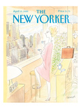 The New Yorker Cover - April 10, 1989 Reproduction procédé giclée par Jean-Jacques Sempé