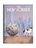 The New Yorker Cover - March 22, 1993 Regular Giclee Print by Gürbüz Dogan Eksioglu