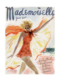 Mademoiselle Cover - June 1936 Regular Giclee Print by Helen Jameson Hall