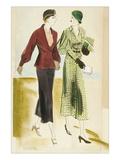 Vogue - November 1931 Giclee Print by R.S. Grafstrom