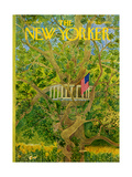 The New Yorker Cover - July 3, 1971 Regular Giclee Print by Ilonka Karasz