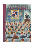 The New Yorker Cover - January 6, 1951 Regular Giclee Print by Leonard Dove