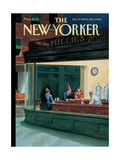 The New Yorker Cover - December 27, 1999 Regular Giclee Print par Owen Smith