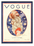 Vogue Cover - November 1924 Giclee Print by Georges Lepape
