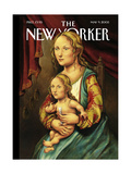 The New Yorker Cover - May 9, 2005 Regular Giclee Print by Anita Kunz