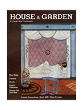 House & Garden Cover - April 1932 Regular Giclee Print by Georges Lepape
