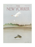 The New Yorker Cover - October 7, 1985 Giclee Print by Andre Francois