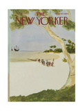The New Yorker Cover - October 13, 1975 Regular Giclee Print by James Stevenson
