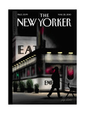 The New Yorker Cover - March 22, 2010 Regular Giclee Print by Jorge Colombo