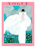 Vogue Cover - May 1925 - Spring Breeze Giclee Print by Georges Lepape