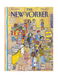 The New Yorker Cover - November 9, 1992 Giclee Print by Mark Alan Stamaty
