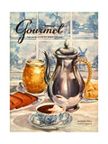 Gourmet Cover - March 1956 Premium Giclee Print by Hilary Knight