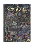 The New Yorker Cover - December 23, 1974 Giclee Print by William Steig