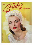 Brides Cover - August, 1943 Regular Giclee Print by Wynn Richards