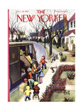 The New Yorker Cover - December 19, 1953 Regular Giclee Print by Arthur Getz