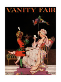 Vanity Fair Cover - December 1915 Regular Giclee Print by Frank X. Leyendecker