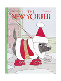 The New Yorker Cover - December 9, 1991 Giclee Print by Gahan Wilson